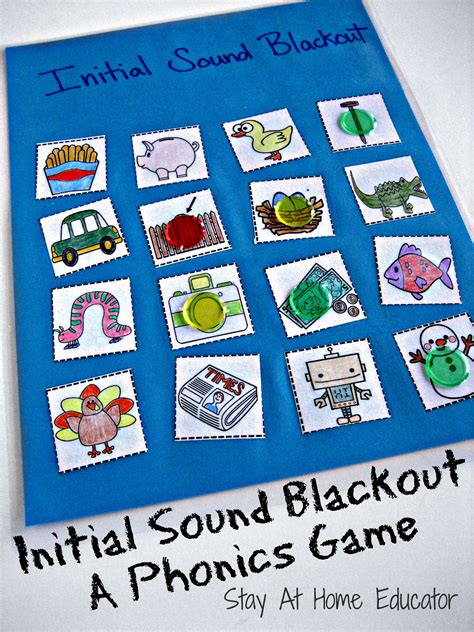 Initial Sound Blackout