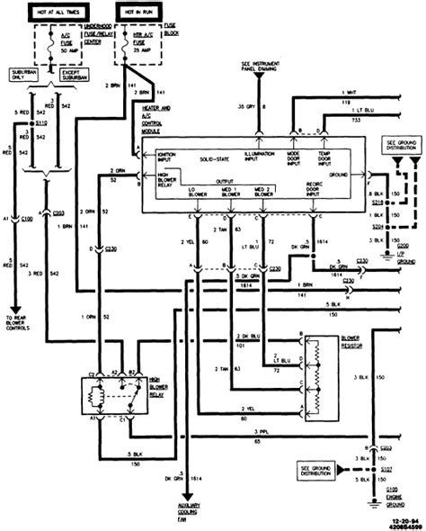 Service Manual Diagram Motor Chevrolet Suburban
