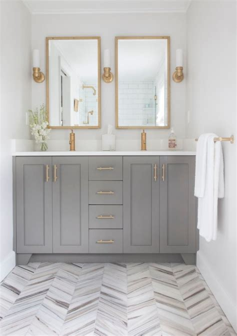 Most Popular Bathroom Colors by Bathroom Cabinets Painted With Benjamin Chelsea Gray