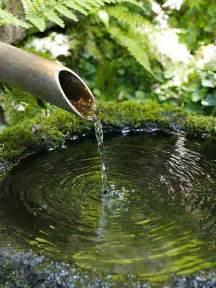 Japanese Garden Bamboo Fountain