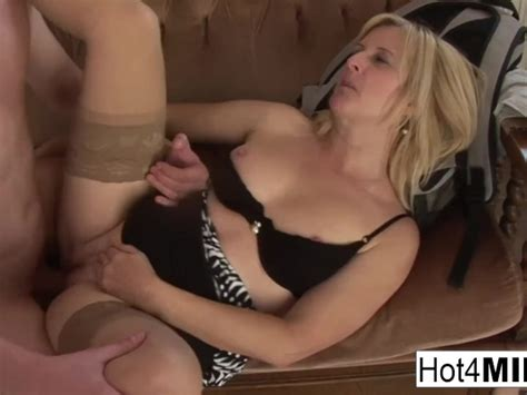 Fun Blonde Milf Fucks A Younger Guy Free Porn Videos