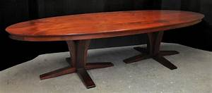 a double pedestal oval dining table - FineWoodworking
