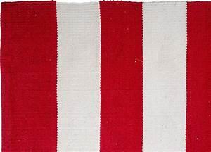 Tapis Intérieur Extérieur : tapis int rieur ext rieur nantucket rouge et blanc 90 x 60 cm ~ Teatrodelosmanantiales.com Idées de Décoration