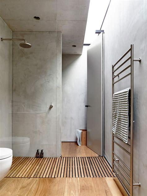 Beton Fliesen Bad by Beton Im Bad Interior Inspiration Minimalist Bathroom