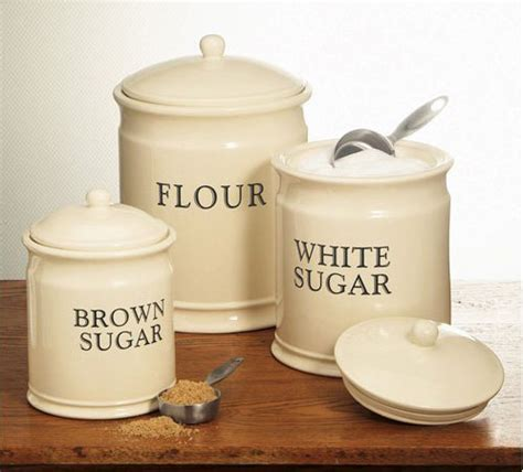 Kitchen Canisters Flour Sugar by Kitchen Storage Canisters Homes And Garden Journal