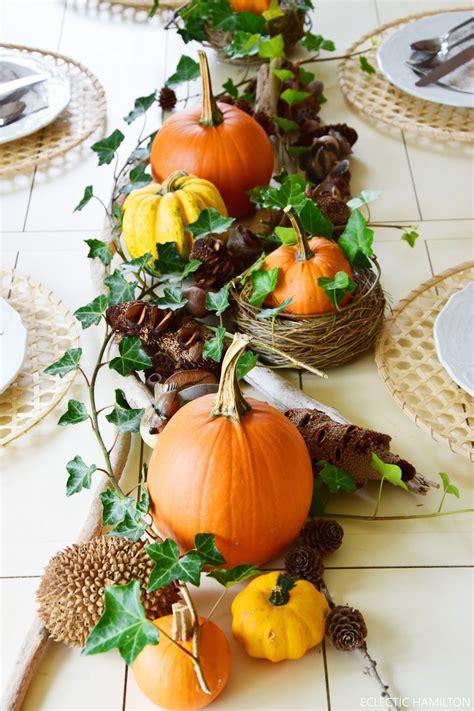 Kuerbis Dekorationsideen by Herbstliche Tischdeko Mit K 252 Rbissen Tischdeko