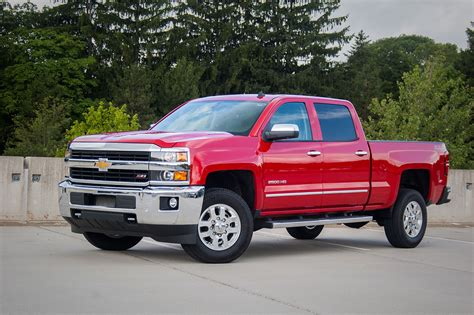 Capsule Review 2015 Chevrolet Silverado 2500hd The