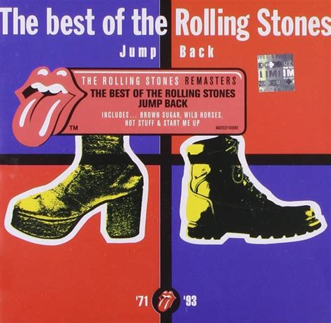Rolling Stones Best Of Jump Back The Best Of The Rolling Stones 1971 1993