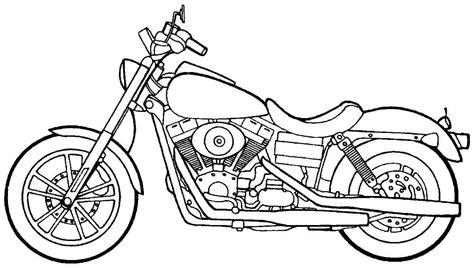 Melhores desenhos para colorir: 5 desenhos de Motocicletas
