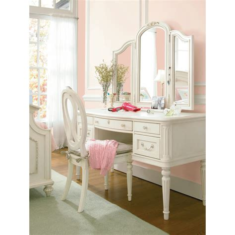 chaise pour coiffeuse smartstuff gabriella vanity bedroom vanities at