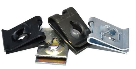 clips speed fasteners captive  nut spire clip zinc yellow  colour bzp ebay