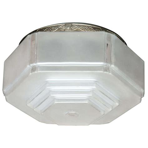 deco flush mount ceiling light at 1stdibs