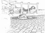 Southern Crayon Days sketch template