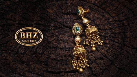 bhz jewellers branding photography website development
