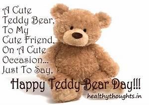 Teddy Bear Love... Cute Bear Quotes