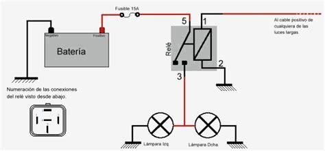 diagrama de instalaci 243 n de faros auxiliares 171 noticias4x4