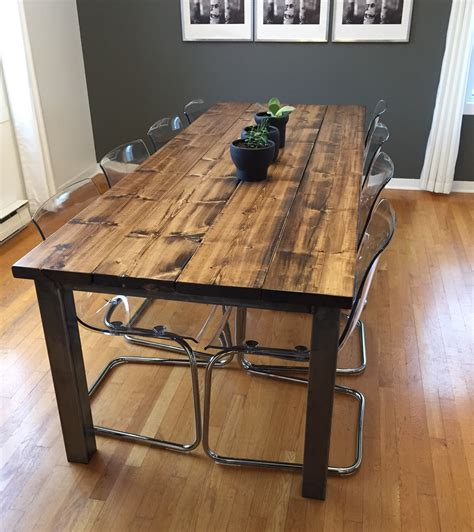 table cuisine style industriel table cuisine style industriel collection avec decoration