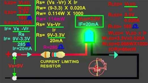 Led How Connect Circuit Calculate