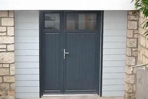 menuiseries exterieures gt portes d39entrees With porte de service garage