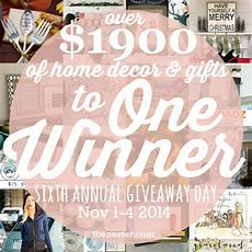 One Grand Prize Giveaway Day