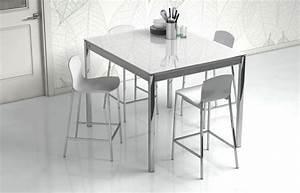 CANCIO Esstisch Multipla Glas Wei Aluminium Mbel Letz
