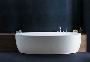 ILBAGNOALESSI ONE SEMI RECESSED BATHTUB BY LAUFEN AMBIENT