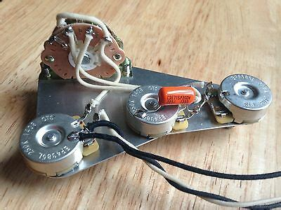 Left Hand Wiring Harness Upgrade For Fender Stratocaster