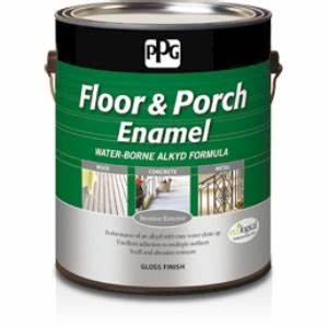 ppg floor porch water borne alkyd gloss ppg paints With ppg floor paint