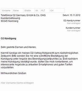 Mein O2 Rechnung Online Einsehen : o2 k ndigungsschreiben handyvertrag ~ Themetempest.com Abrechnung
