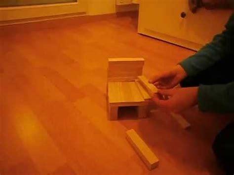 fabriquer une chaise miniature kapla comment faire une chaise