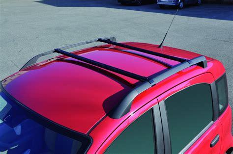 box portatutto auto gev barre portatutto gev 8814 acciaio x fiat panda ii serie