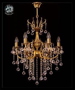 Kronleuchter Gold Günstig : jugendstil kronleuchter kristall lampe kristall kronleuchter barocker kronleuchter ~ Markanthonyermac.com Haus und Dekorationen