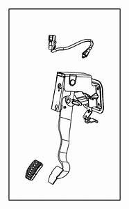 2009 Jeep Compass Switch  Clutch Starter Interlock   5