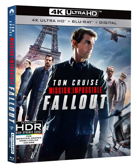 mission impossible fallout  blu ray  dvd