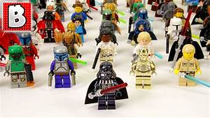 Every Lego Star Wars Minifigure Ever Made!!! 800+ Minifigs ...
