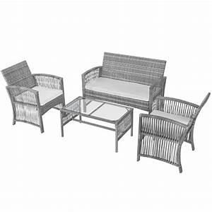 2020 Waco Outdoor Patio Furniture Rattan Chair  U0026 Table Set