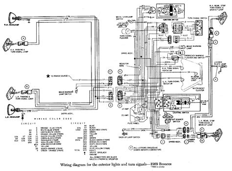 1978 Ford Bronco Turn Signal Wiring Diagram by Fuel Injection Technical Library 187 Early Bronco Wiring