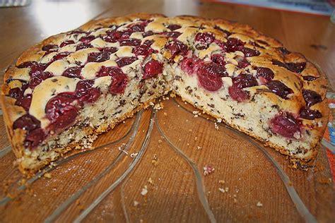 Kuchen Mit Kastenform Und Kirschen Versunkener Kirsch Schoko Kuchen Xeyna Chefkoch De