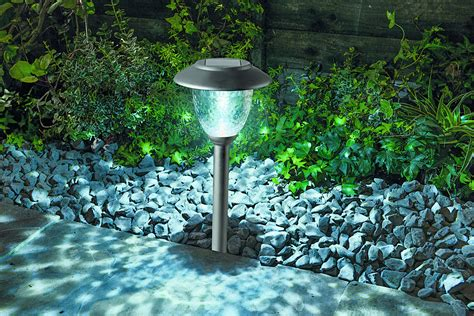 Cole & Bright Solar Post Lights, Led Pathway Garden Lamps