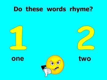 kindergarten rhyming powerpoint by melissa williams tpt