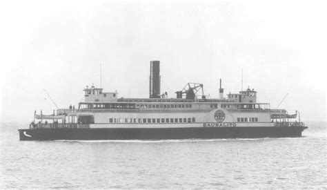 Ferry Boat Sausalito by Ferryboat Sausalito History