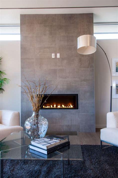 grey stone modern fireplace   wall mount electric