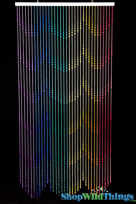 rainbow beaded curtains pictures to pin on pinterest