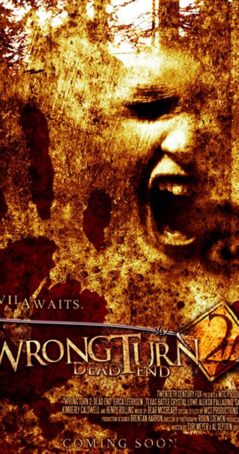 wrong turn  dead  video