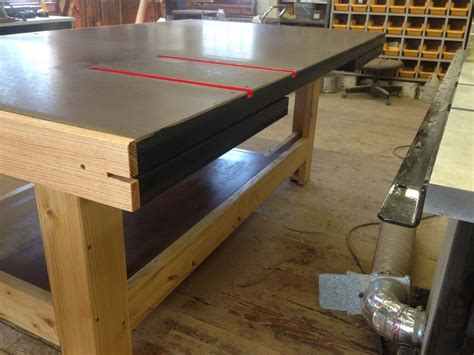 torsion box  feed assembly table  mharper