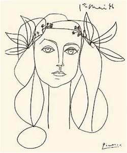 visual recording blog: Pablo Picasso line drawings.