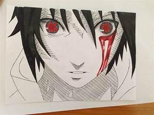 Sasuke - Mangekyou Sharingan by AdonSatlaAherArt on DeviantArt