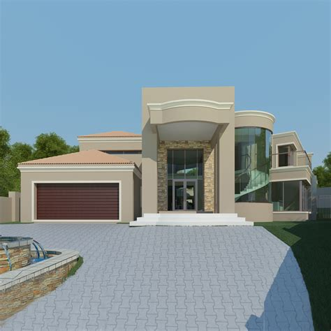 3 Bedroom House Johannesburg by Modern House Plans South Architectural Designs