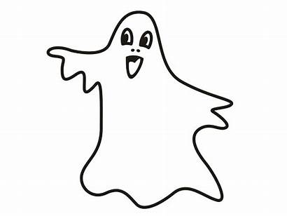 Ghost Coloring Pages Printable Halloween Sheet Spooky