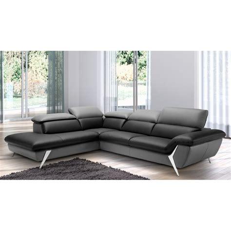 canape de luxe grand canapé d 39 angle méridienne 6 places cuir haut de gamme